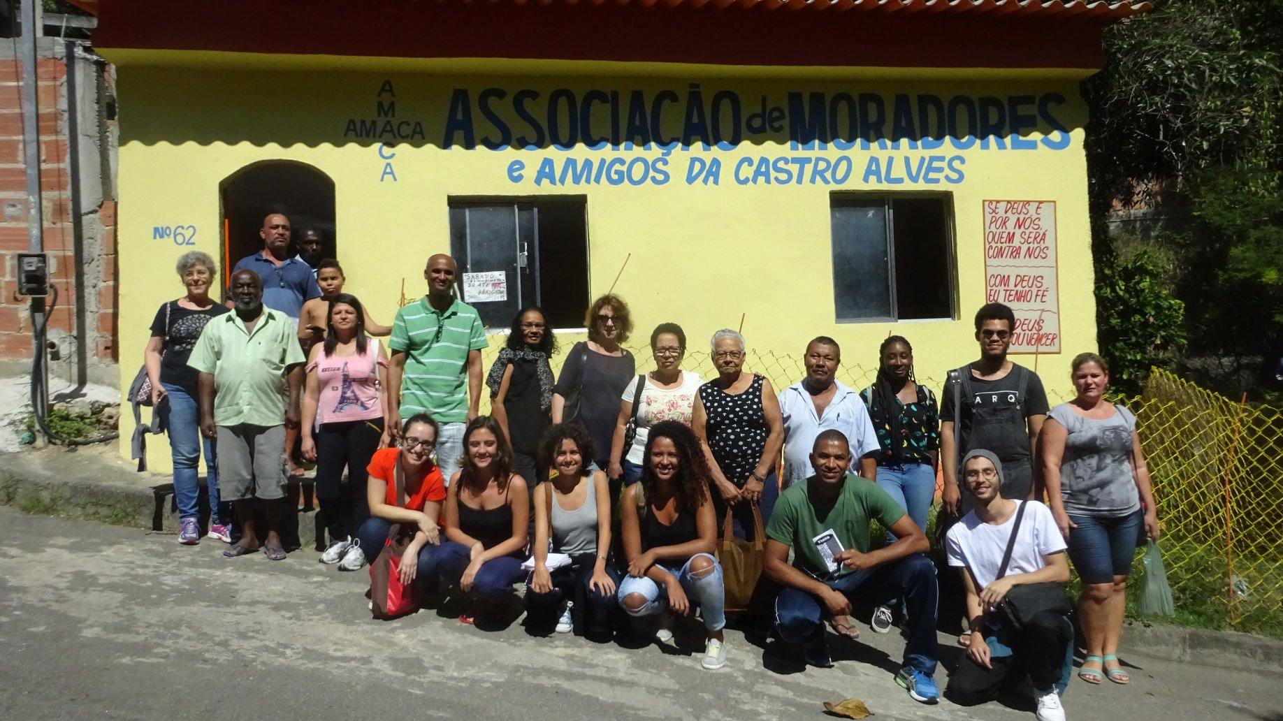 Visita à Castro Alves