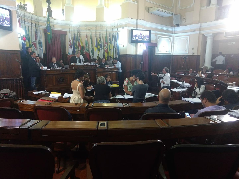 Votação do Plano Diretor de Niterói