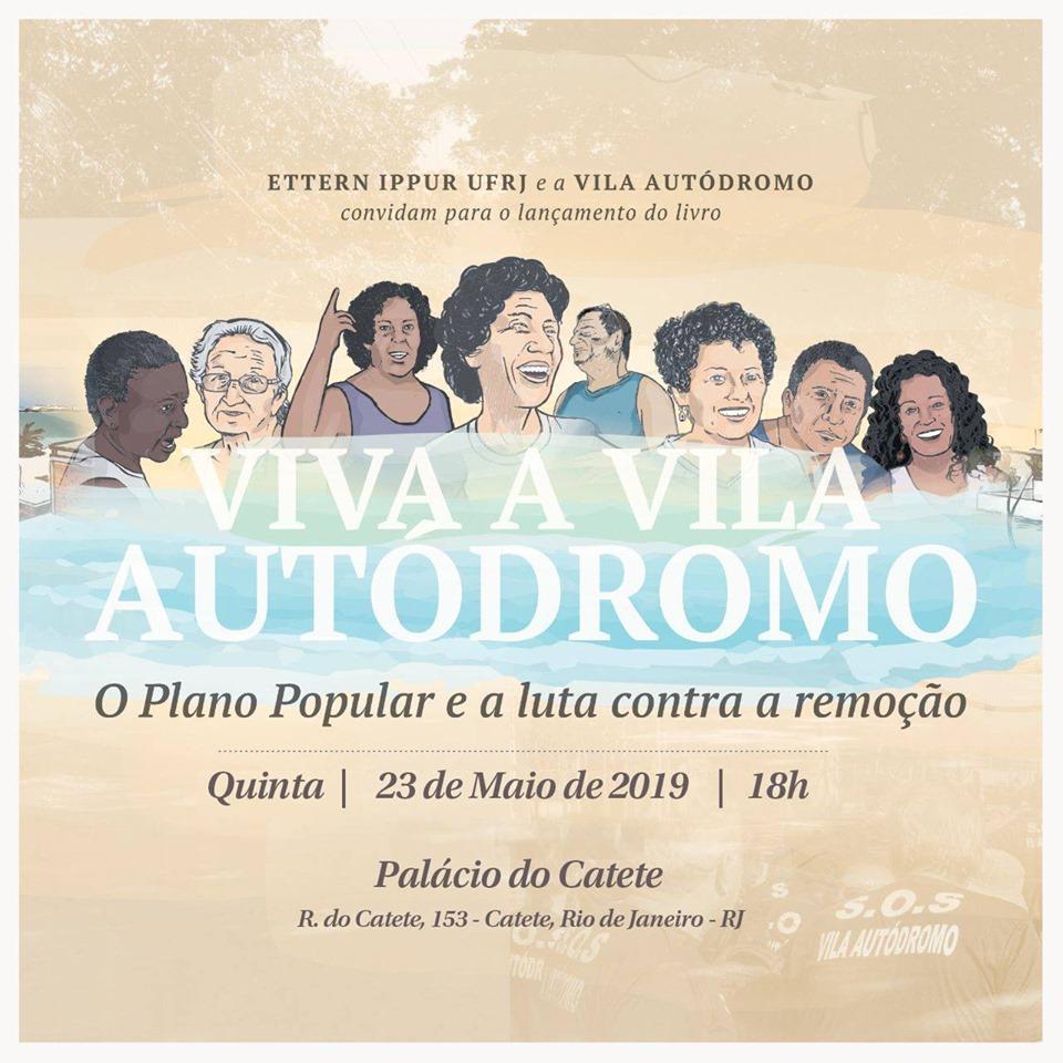 Lançamento do Livro Viva a Vila Autódromo no Palácio do Catete