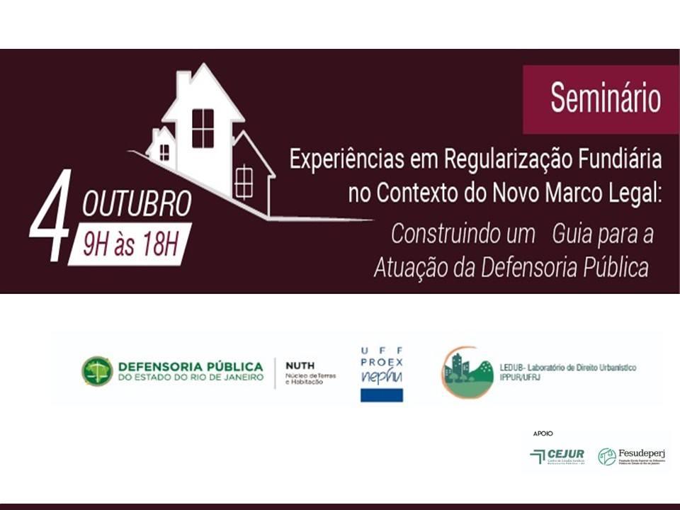 Seminário: Experiencias em Regularização Fundiária